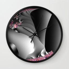 Black and white with embellishments Wall Clock