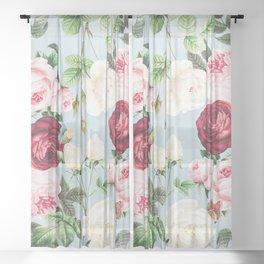 Whimsical Garden I Sheer Curtain