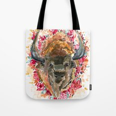 Flora•Buffalo Tote Bag