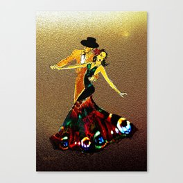 DANCERS - La Fiesta Canvas Print