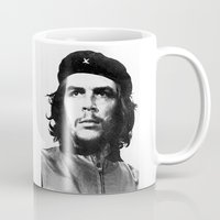che Mugs featuring Che Guevara  by Limitless Design