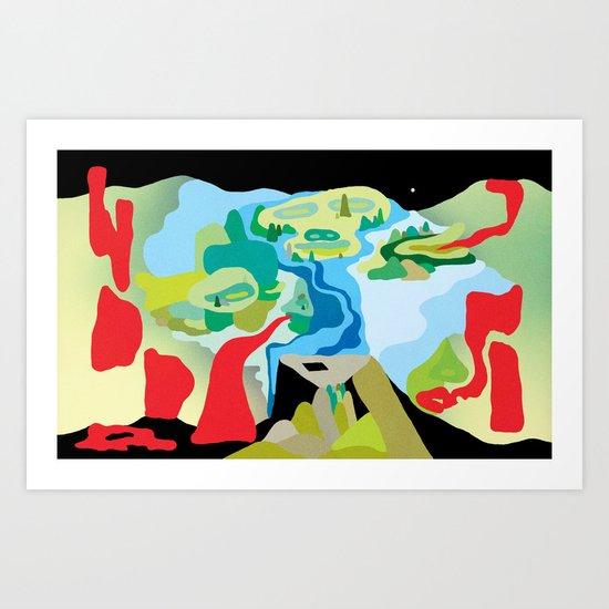 """""""Warpaint"""" by Steven Fiche Art Print"""