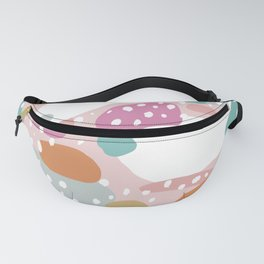 Colorful summer love candy land Fanny Pack