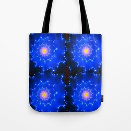 Mosaic in Blue Tote Bag