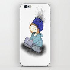 anxiety iPhone & iPod Skin