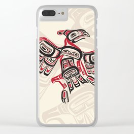 Salish Thunderbird Clear iPhone Case
