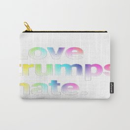 love trump hate Carry-All Pouch