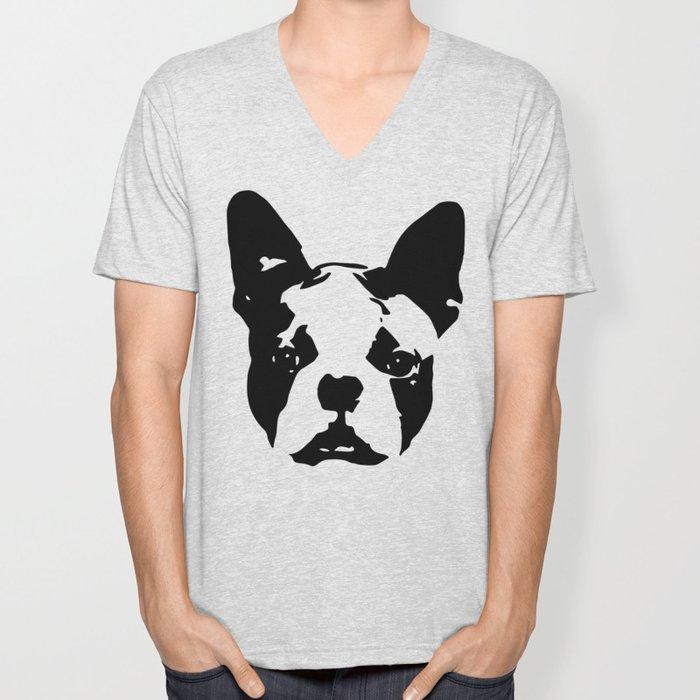 Boston Terrier Gifts Unisex V-Neck