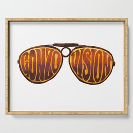 Gonzo Vision Serving Tray