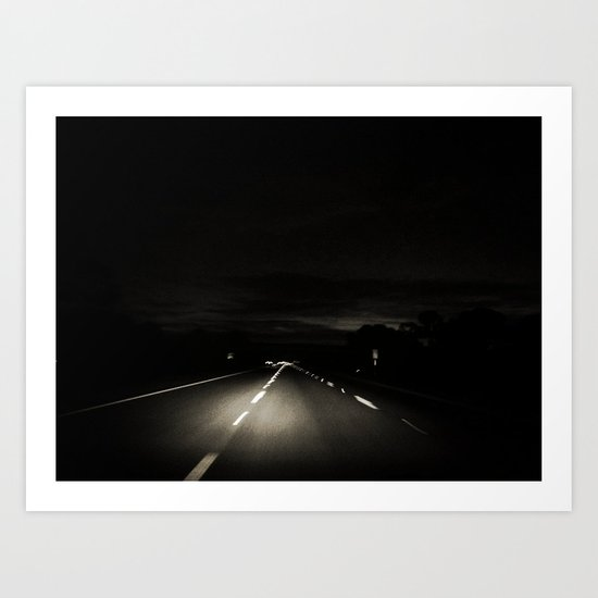 The Long Road Home Art Print