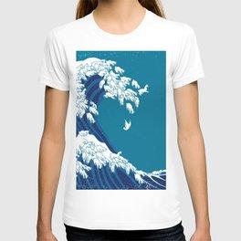 Waves Llama T-shirt
