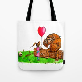 Wolfgang's New Friend Tote Bag