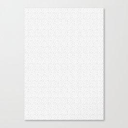 strange pattern Canvas Print