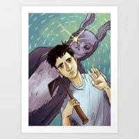 donnie darko Art Prints featuring Donnie Darko by Andy Isabel