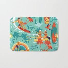 Hawaiian resort Bath Mat