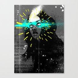 Erase my mind Canvas Print