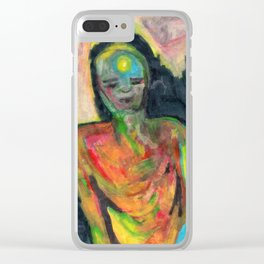 Spirit/Figure Clear iPhone Case