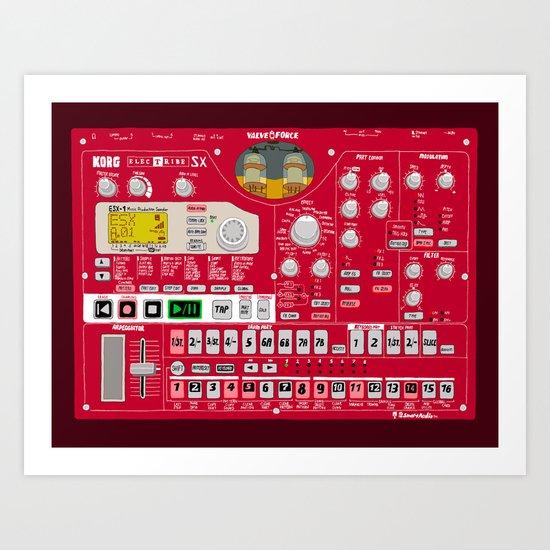 Korg Electribe ESX-1 Art Print