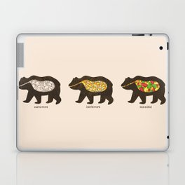 The Eating Habits of Bears Laptop & iPad Skin