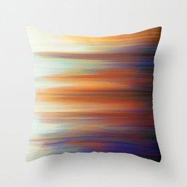 Pixel Sorting 44 Throw Pillow