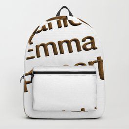 Harry P cast Backpack