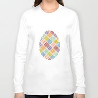 egg Long Sleeve T-shirts featuring Egg by milkingsquids