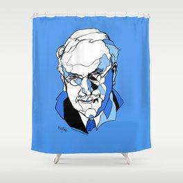 Swiss Psychiatrist Carl Jung Shower Curtain