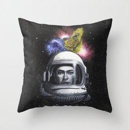 La Casa Comica Throw Pillow