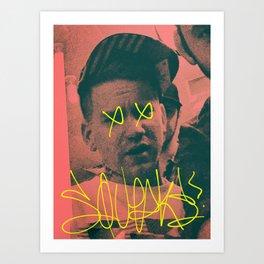 I am your leader Art Print