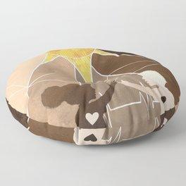 Pulse Floor Pillow