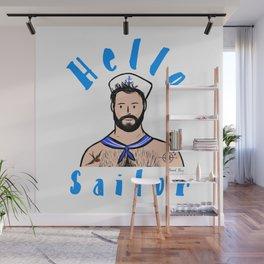Beard Boy: Hello Sailor Wall Mural