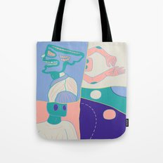 Moods (Anger / Chill / Non Reaction / Play) Tote Bag