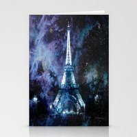 paris Stationery Cards featuring Paris dreams by 2sweet4words Designs