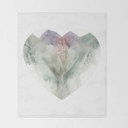 Valentine's Day Vagina Print Throw Blanket