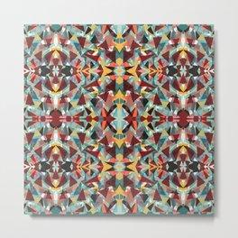 Kaleidoscope Craziness Metal Print