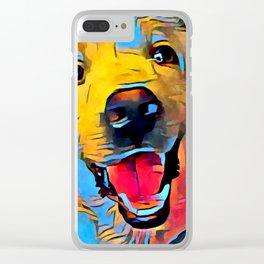 Labrador Retriever 2 Clear iPhone Case