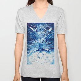 -The Watcher- Unisex V-Neck