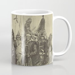 Japanese Warriors Coffee Mug