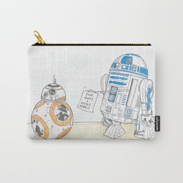 """R2D2 - """" B..Banter-M8"""" Carry-All Pouch"""