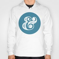 ampersand Hoodies featuring Ampersand by AndyGD