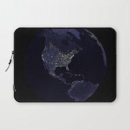 Earth Globe Lights Laptop Sleeve