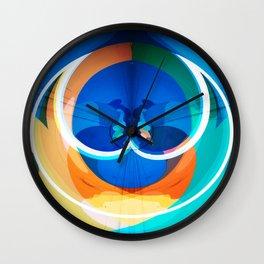 Valentin Overlay Wall Clock