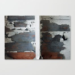 train wreck Canvas Print