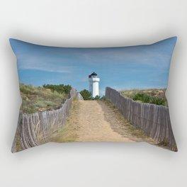way to the lighthouse Rectangular Pillow