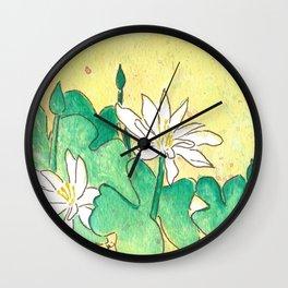 Bloodroot Wall Clock