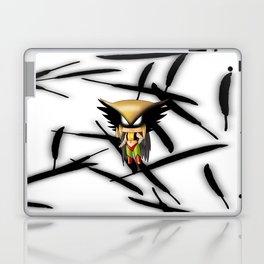 Chibi Hawkgirl Laptop & iPad Skin
