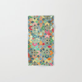 Gilt & Glory - Colorful Moroccan Mosaic Hand & Bath Towel