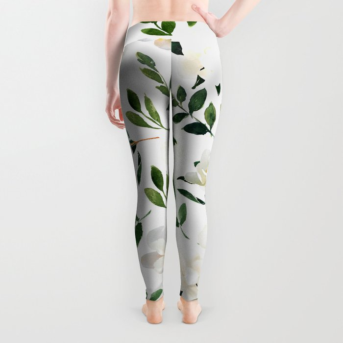 Magnolia Tree Leggings