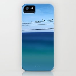 Cretan Sea & Birds I iPhone Case