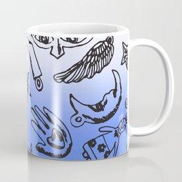 Milagros Dip Dye Blue Coffee Mug